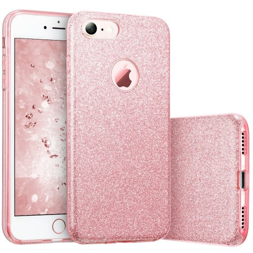 Iphone Huawei Samsung Phone Case Makeup Glitter Sparkle Bling Cover For Girls Women High Quality