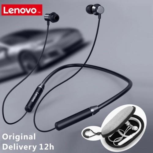 Lenovo HE05 Bluetooth 5.0 Neckband Wireless Stereo Sports Magnetic Headphones IPX5 Waterproof