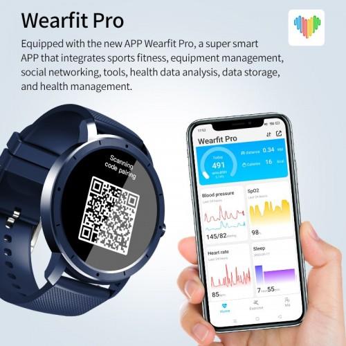 Fitness Watch HW21 IP68 Waterproof Bluetooth Smart Watch Men Women Heart Rate Monitor