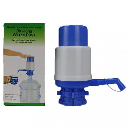 Small Medium Large Bottled Water Hand Pressed Water Dispenser Manual Water Pump Portable