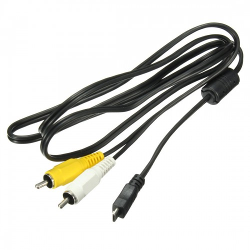 Micro-USB Male to 2 RCA Male AV Audio Video Adapter Cable For  Android