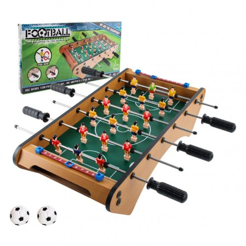 Mini Tabletop Football Table Portable Soccer Game Set With 2 Balls Score Keeper For Kids