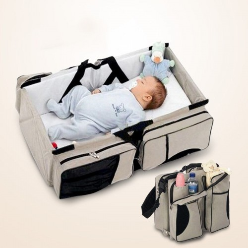 Multi-function Portable Foldable Baby Travel Bed Crib Mummy Bag Newborns Baby Carry Cot