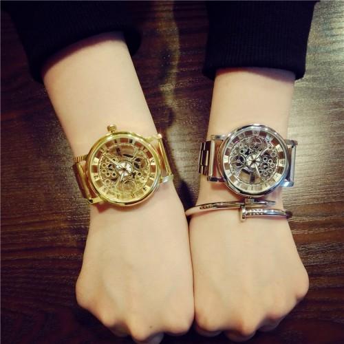 Luxury Fashion Casual Stainless Steel Quartz Watch