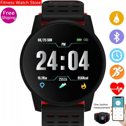 KY108 Smart Watch IP67 Waterproof Heart Rate Monitor Blood Pressure Fitness Tracker