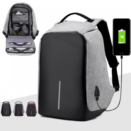 Backpack High Quality Polyester Student School Bag Female Male Computer Bag High Capacity Travel Bag