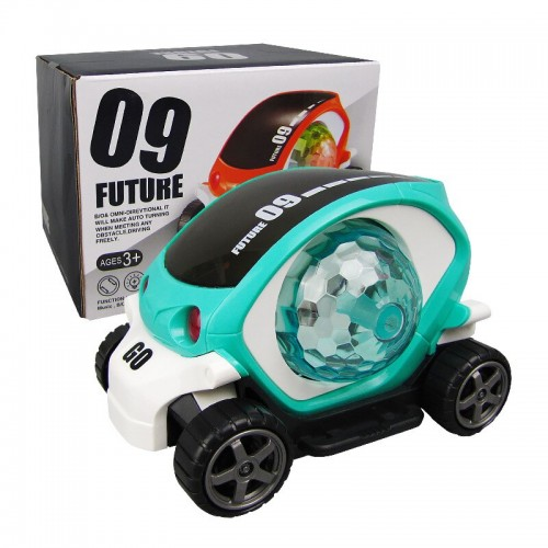 Electric Universal Car Model With Music Colorful Light Educational Kids Toy