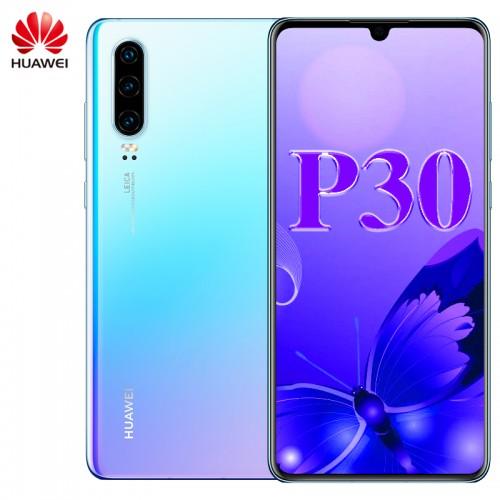 Huawei P30 Mobile Phone 6.1 Inch OLED Screen Kirin 980 Octa Core Android 9.1 NFC 3650mAh IP53