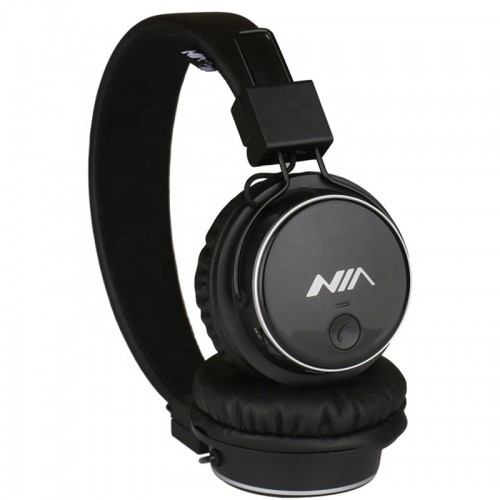 NIA Q8 Headset Wireless Stereo Bluetooth Headphones With Mic