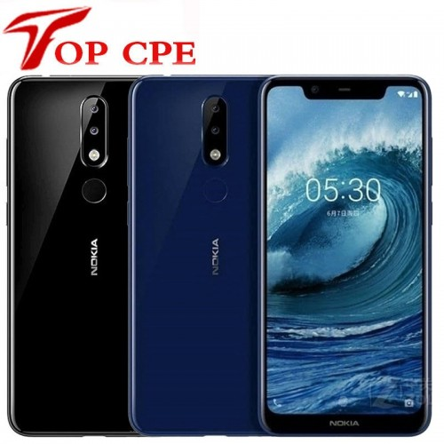 Nokia X5 SmartPhone 3GB RAM 32GB ROM Octa Core 13MP+5MP Dual Rear Camera Fingerprint Android 8.1