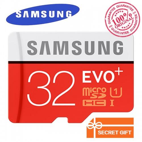 SAMSUNG  EVO+ Class10 Micro SD Card