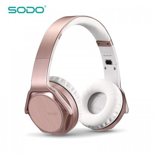 SODO MH3 NFC 2in1 Twist-out Bluetooth Headphone Wireless Headset Over Ear Sports Earphone