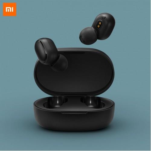 Original Xiaomi Redmi Airdots TWS Bluetooth 5.0 Earphone Stereo Wireless Earbuds Bass Headset AI Control