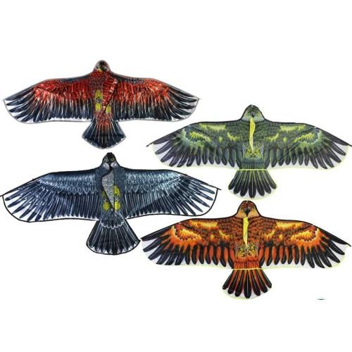 Big Flying Flat Eagle Bird Kite For Children Easy Control Good Flying
