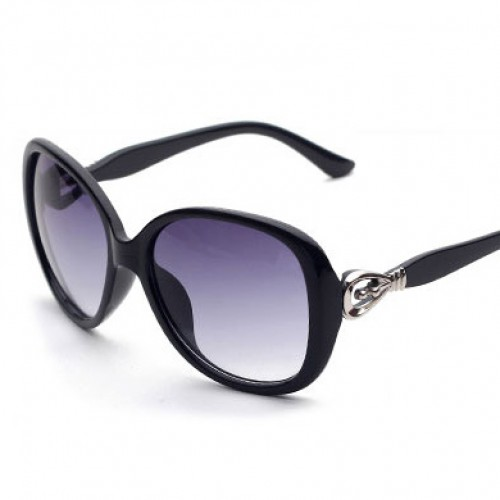 Butterfly Plastic Women Adult Polycarbonate Sunglasses