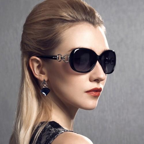 Summer Vintage  Sun Glasses For Women Round Glasses Metal Frame Sunshades