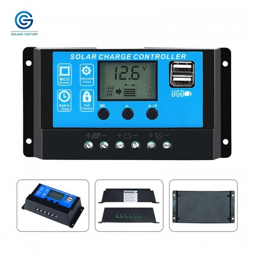 PWM 60A LCD Display Solar Charge Controller 12V/24V