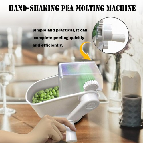 Peeling Pea Hand Rolling Machine Healthy Durable Pea Sheller For Beans Soy Peas Pea