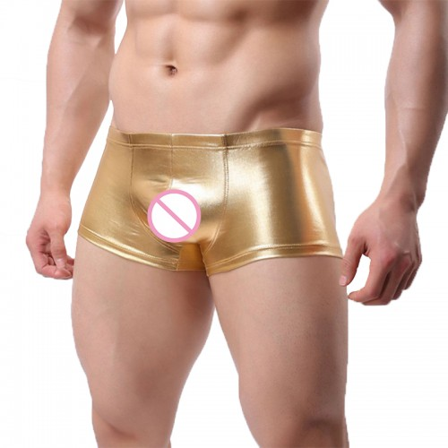 Leather Satin Club Fancy Boxer