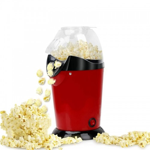 Popcorn Maker Hot Air Popcorn Popper 1200W With Measuring Cup Oil Free Home Party Corn Machine