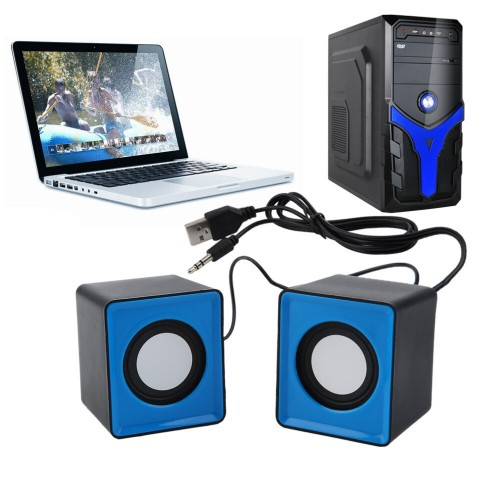 Portable  Mini USB  Music Stereo for computer Desktop PC Laptop Notebook home theater speakers