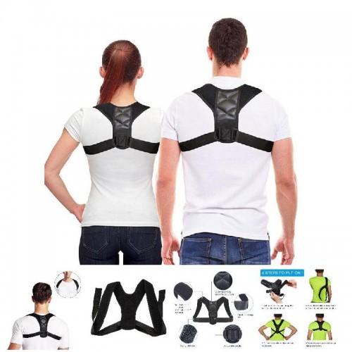 Posture Corrector Adjustable Back Shoulder Support Correction Belt