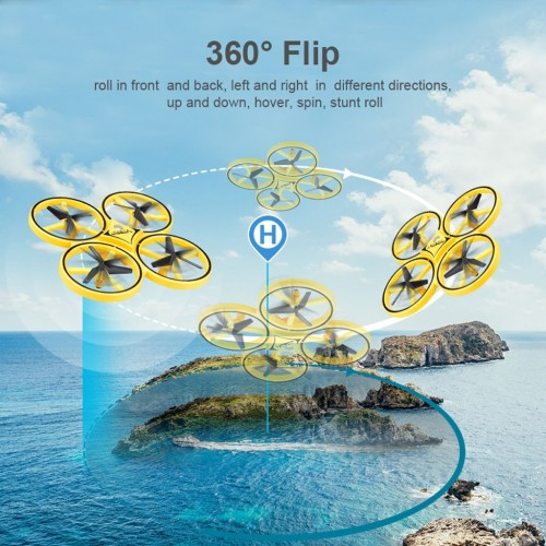 Quadcopter Infrared Induction Hand Control 2.4G Gravity Sensor Drone