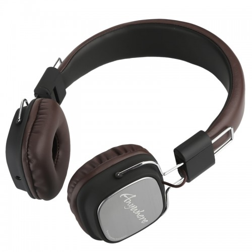 REMAX HIFI Retractable PU Wired Control Headphones With Microphone