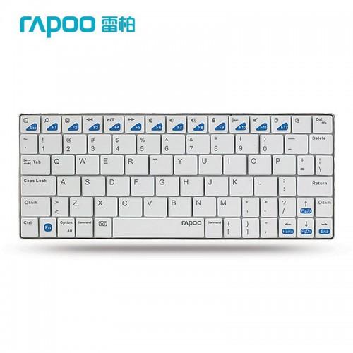 Rapoo E6500 Portable Mini Ultra-thin Wireless Keyboard Bluetooth 3.0 Keyboard