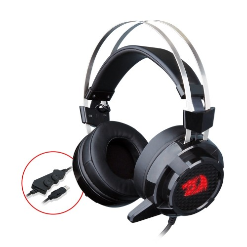 Redragon H301 SIREN2 7.1 USB Gaming Headset Channel Surround Stereo Vibration Noise Canceling With Mic