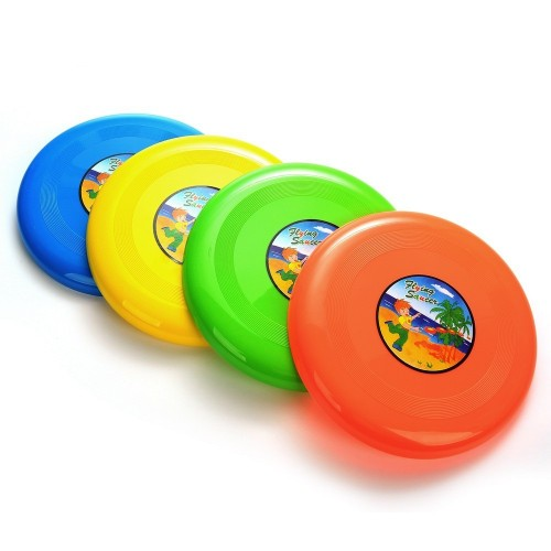Round Flying Disc Ring Flying Saucer Outdoor Toys Garden Game Toy For Kids