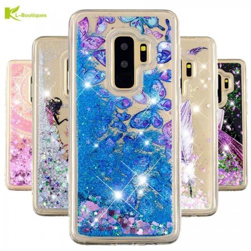 Samsung Galaxy  Soft Liquid Glitter Dynamic Phone Case