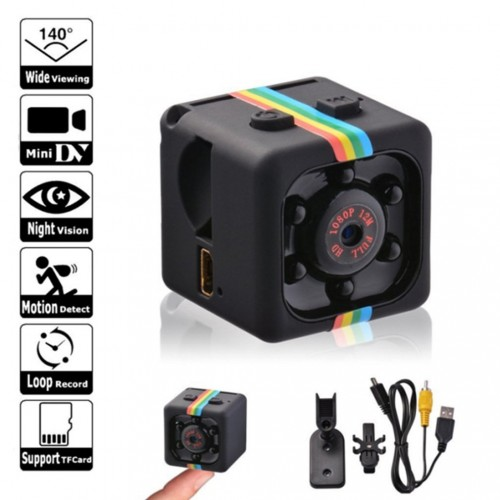 Mini Camera HD 960P Sensor Night Camcorder Motion DVR Micro Camera Sport DV  Video Camera SQ 11