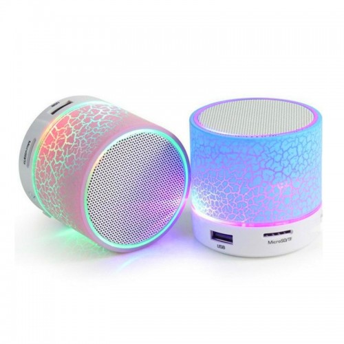 Wireless Speaker Mini Bluetooth Loudspeaker LED TF USB Subwoofer Stereo Speakers Mp3 Stereo Audio Music Player