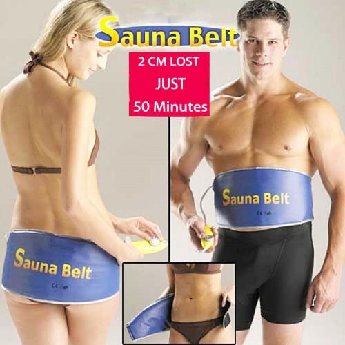 Sauna Belt For Weight Loss Fat Burner Anti Cellulite Body Heating Slimming Belt