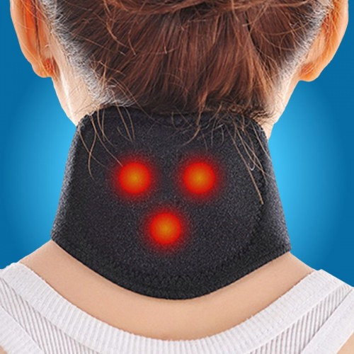 Self Heating Magnetic Therapy Neck Guard
