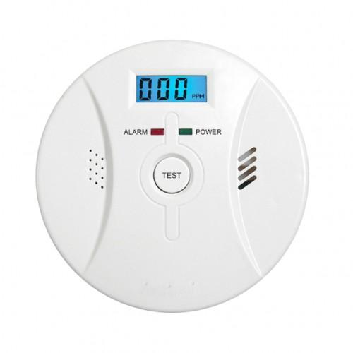 Household Carbon Monoxide And Smoke Warning Alarm Detector Dual-sensors