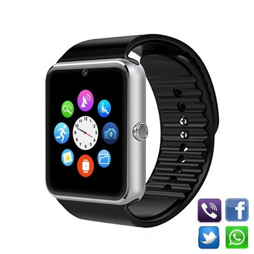 GT08 Watch Mobile Phone Sim Card Camera Clock Sports Smart Watches Long Standby