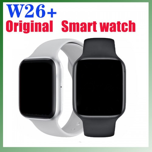 W26+ HD Screen Series 6 Bluetooth Call Heart Rate Monitor Smartwatch