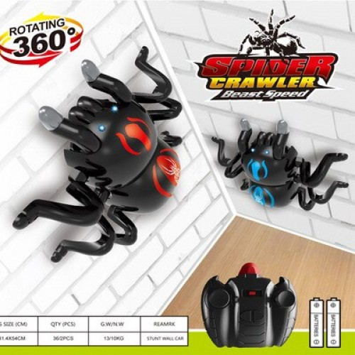 Spider Scary Toy Wall Driving Climber Remote Control Realistic Children Toy