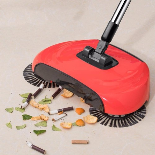 Stainless Steel Hand Push Sweepers Sweeping Machine Magic Broom Household Cleaning Tool