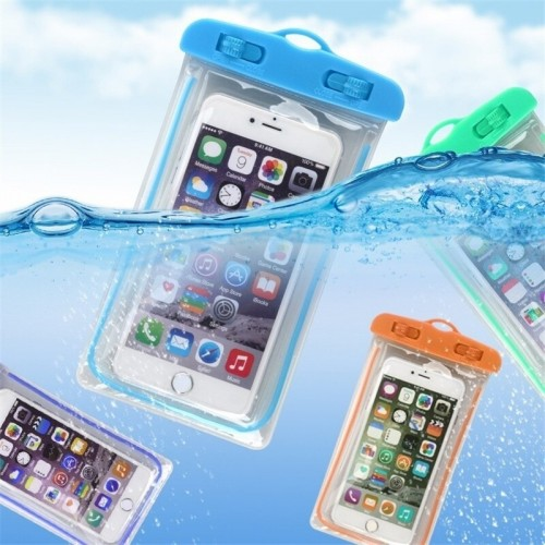 Pack of 3 Waterproof cases Pouch Swimming Gadget Dry Bag Universal Phone Protector