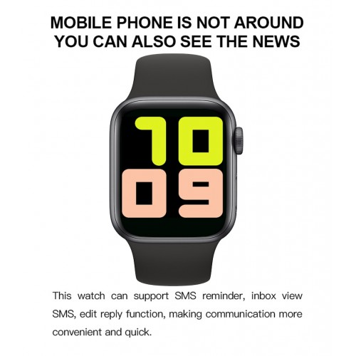 T500 Full Touch Screen Smart Watch Bluetooth Call Fitness Tracker