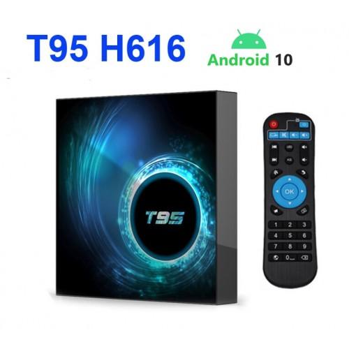 Asano T95 Android TV Box Quad core WIFI IPTV Box 4GB 32GB OTT YouTube Netflix Smart Media Player