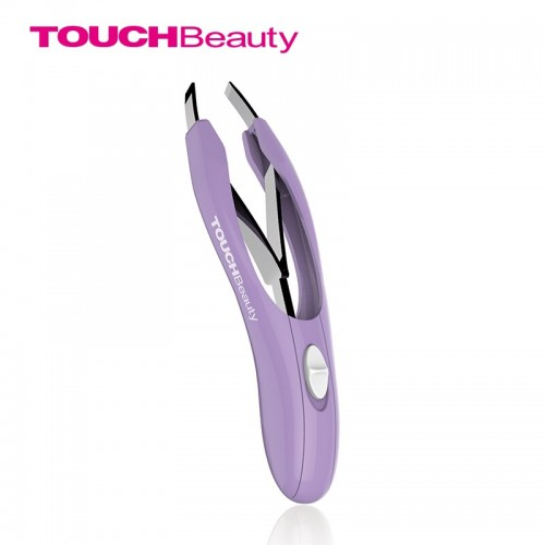 Eyebrow Tweezers With LED Light Professional Automatic Retractable Stainless Tip For Facial Hair Removal