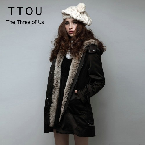 Women Winter Fur Jacket Casual Ladies Basic Coat Warm Hooded Slim Jacket Long Sleeve