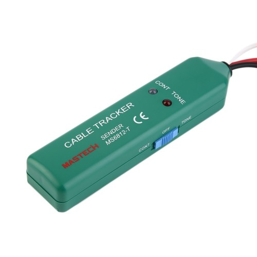 Network Cable Tracker MS6812 Line Tester Continuity Detector Wiring Finder For Maintaining Wires