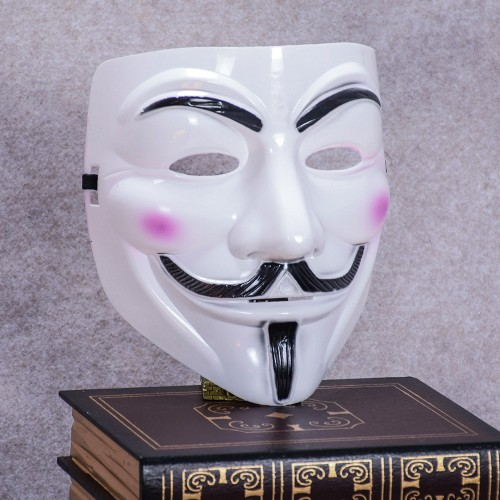 The V for Vendetta Party Cosplay Mask Halloween Anonymous Guy Fancy Dress Costume Accessory