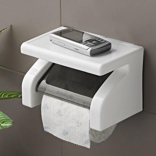 Toilet Paper Tissue Holder Screws Mounting Roll Paper Holde Bathroom Storage Organizer