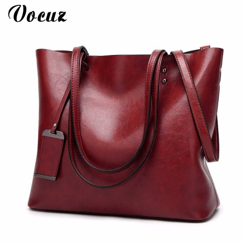Women Bags Patent Leather Vintage Shoulder Bags PU Tote Brand Zipper Solid Female Ladies Handbag Womens Retro Satchels
